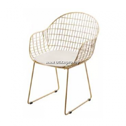 IPMDC-22 Net Circle Metal Arm Chair