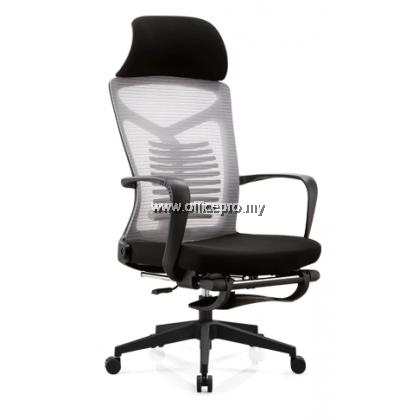 Highback Chair C/W Nylon Leg I Ergonomic Mesh Chair I Office Chair I IP-M20/N