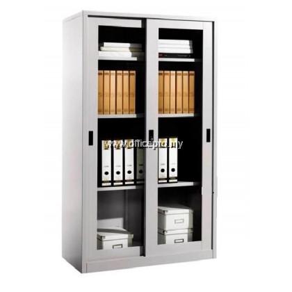IPS-119 Full Height Steel Cupboard With Glass Sliding Door