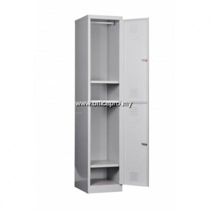 IPS-114C 2-Compartment Steel Locker