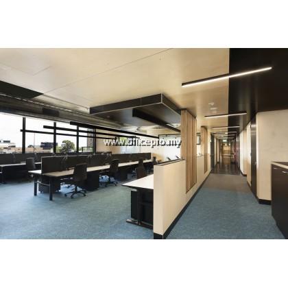 IP-O80 Office 80W Led Slim 8FT Linear Light