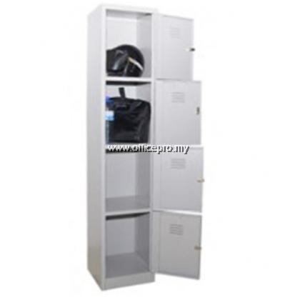 4 Compartment Steel Locker I IPS-114B