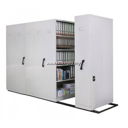 Mobile Compactor With Dual Purpose Shelves I Steel Compactor I IPS-117