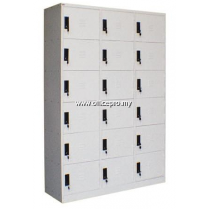 IPS-115A 18-Compartment Steel Locker