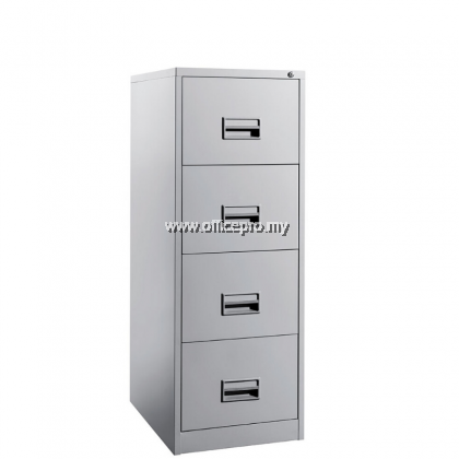 4 Drawers Steel Filing Cabinet  With Recess Handle c/w Ball Bearing Slide I IPS-106A