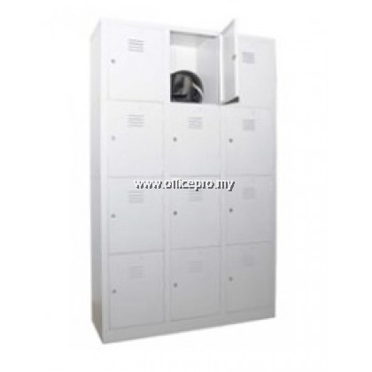 IPS-108/A 12-Compartment Steel Locker