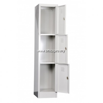 3 Compartment Steel Locker l IPS-114/3