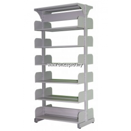 IPS-608-Library Double Sided Rack without Steel Side Panel (Open)