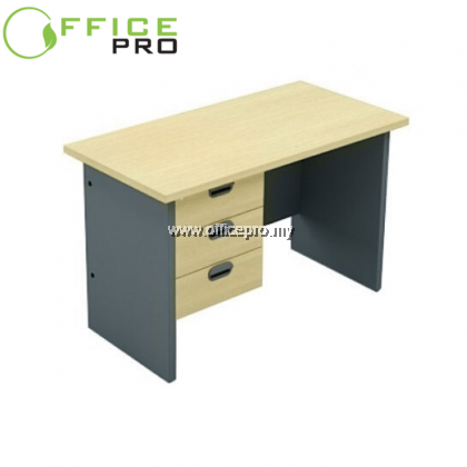 Standard Table Set c/w Fixed Pedestal 3D I Writing Table I Rectangular Table I Office Table I IPGT