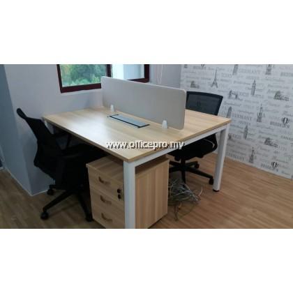 Workstation Cluster of 2 I Office Workstation I Office Panel I Office Divider I N Series Set (Square Type)