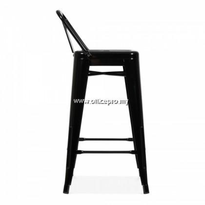IPTBS-02 Tolix Bar Stool Low Backrest