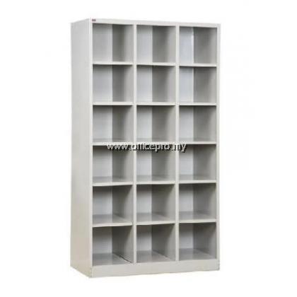 IPS-406 18 Pigeon Holes Cabinet