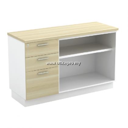 IPB-YOP/YDP 7123 Low Cabinet + Fixed Pedestal 2Drawer1Filling (2D1F)
