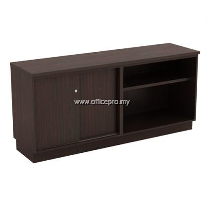 IPQ-YOS 7160 Open Shelf + Sliding Door Low Cabinet