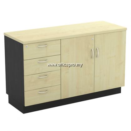 IPT-YOP/YDP 7124 Low Cabinet + Fixed Pedestal 4 Drawer