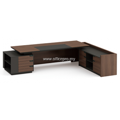 Director Table l Profuse Director Table With Side Cabinet l IPPDT-01