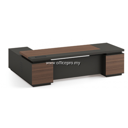 IPPDT-02 Profuse Director Table With Side Cabinet