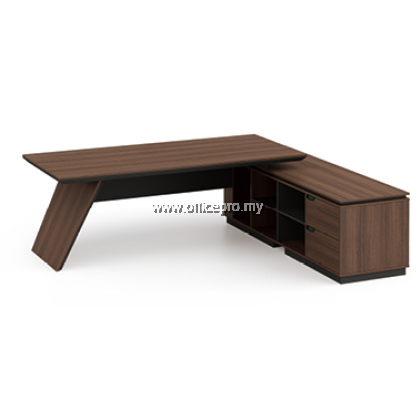 IPPDT-03 Profuse Director Table With Side Cabinet