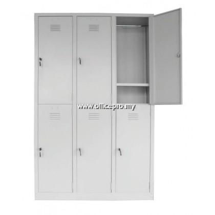 6 Compartment Steel Locker l IPS-141