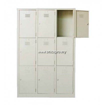 IPS-105 9 Compartment Steel Locker