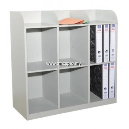 IPS-113/A 6 Pigeon Hole Side Table