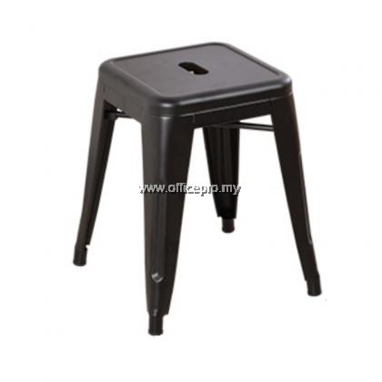 Tolix Metal Low Bar Stool I Cafe Barstool I Wooden Barstool I IPMDC-15