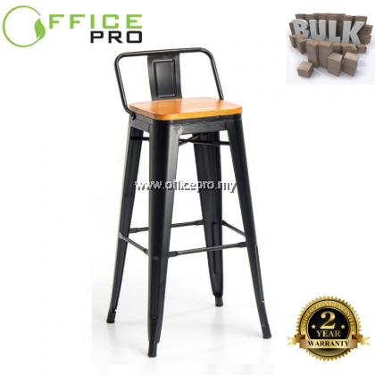 IPTBS-W02 Tolix Wooden Seat Bar Tool
