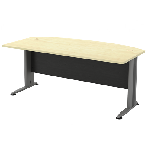 Curve front executive table for Lift furniture to second floor